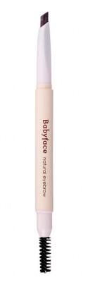 Карандаш для бровей It's Skin Babyface Natural Eyebrow тон 02 коричневый 0,3г: фото