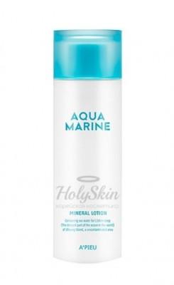Лосьон увлажняющий с минералами A'PIEU Aqua marine mineral lotion 180 мл: фото