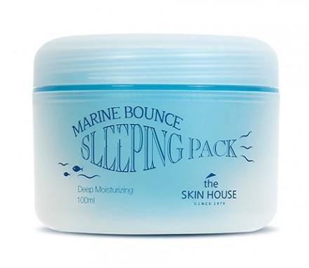 Маска ночная с морским коллагеном THE SKIN HOUSE Marine bounce sleeping pack 100мл: фото