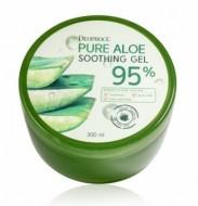 Гель мультифункциональный с алоэ DEOPROCE Pure aloe soothing gel 95% 300мл: фото