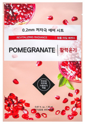 Маска с экстрактом граната ETUDE HOUSE 0.2 Therapy Air Mask Pomegranate 20мл: фото