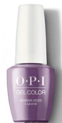 Гель для ногтей OPI GelColor Peru Grandma Kissed a Gaucho GCP35: фото