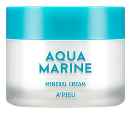 Крем минеральный увлажняющий A'PIEU Aqua Marine Mineral Cream: фото