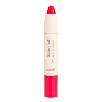 Карандаш-помада для губ THE SAEM Saemmul Smudge Lip Crayon PK01 3,5гр: фото
