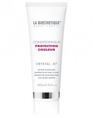 Кондиционер для оттенков холодный блонд La Biosthetique Conditrioner Protection Couleur Crystal07 150 мл: фото