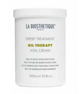 Маска для интенсивного восстановления поврежденных волос, фаза 2 La Biosthetique Vital Cream 1000мл: фото