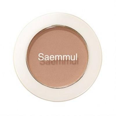 Тени для век матовые THE SAEM Saemmul Single ShadowMatt BE01 1,6гр: фото