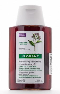 Шампунь укрепляющий с экстрактом Хинина Klorane Thinning Hair 100 мл: фото