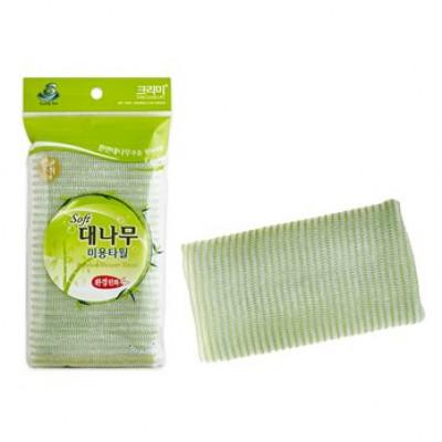 Мочалка для душа Sungbo Cleamy Bamboo Shower Towel 28х100 1шт: фото