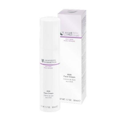 Крем лёгкий активный с фруктовыми кислотами Janssen Cosmetics AHA Face Cream 50мл: фото