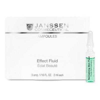 Концентрат нормализующий для жирной кожи Janssen Cosmetics Normalizing Skin Fluid 7*2мл: фото