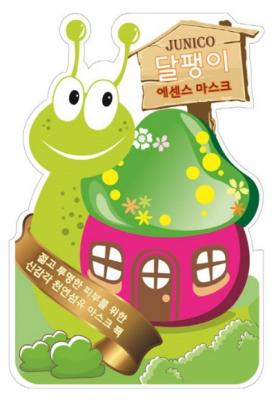Маска тканевая с экстрактом улитки Junico Snail Essence Mask 25г: фото