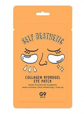 Патчи для глаз гидрогелевые с коллагеном Berrisom G9 Self Aesthetic Collagen Hydrogel eye patch 3гр: фото