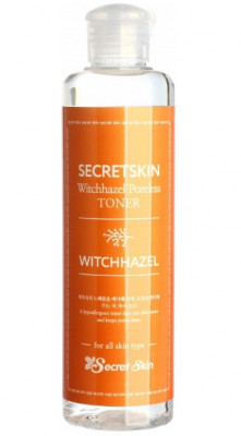 Тонер для лица с экстрактом гамамелиса Secret Skin Witchhazel Poreless Toner 250мл: фото