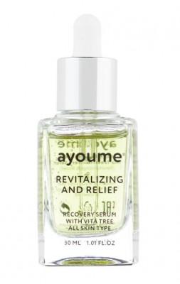 Сыворотка для лица восстанавливающая AYOUME Vita Tree Revitalizing-&-Relief serum 30мл: фото