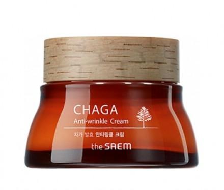 Крем для лица антивозрастной THE SAEM CHAGA Anti-wrinkle Cream 60мл: фото