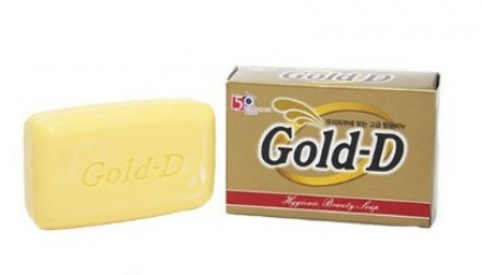 Мыло туалетное Clio Gold-D Soap 100г: фото