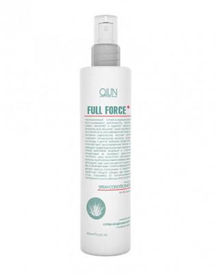 Кондиционер-спрей увлажняющий с алоэ OLLIN FULL FORCE 250мл: фото