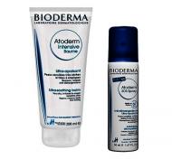 Набор Bioderma Atoderm: Бальзам Интенсив 200мл + SOS спрей 50 мл: фото
