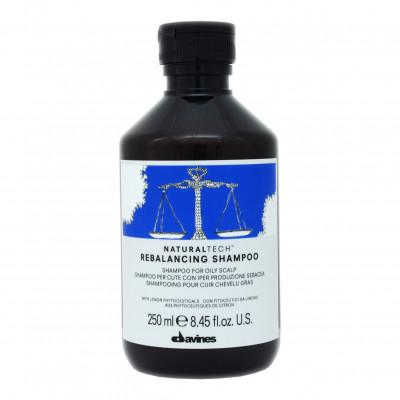 Шампунь балансирующий Davines Rebalancing Shampoo 250 мл: фото