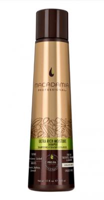 Шампунь увлажняющий для жестких волос Macadamia Ultra rich moisture shampoo 300мл: фото