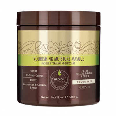 Маска питательная увлажняющая для всех типов волос Macadamia Nourishing Moisture Masque 500мл: фото