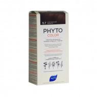 Краска для волос Phytosolba Phyto COLOR 5.7 Светлый каштан: фото
