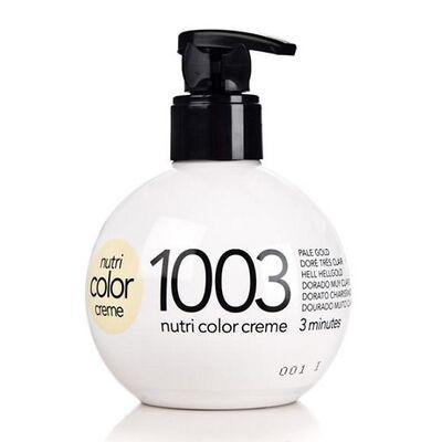 Краска для волос без аммиака Revlon Professional Nutri Color Creme 1003 очень светлый золотой 250 мл: фото