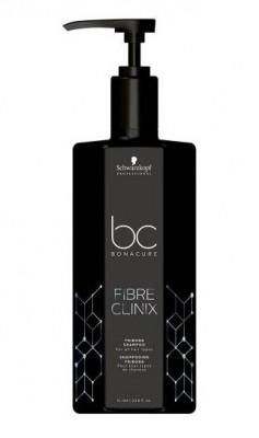 Шампунь для поврежденных волос Schwarzkopf professional Bonacure Fibre Clinix Shampoo 1000 мл: фото