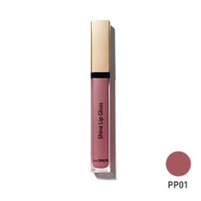 Блеск для губ THE SAEM Eco Soul Shine Lip Gloss PP01 Inner Purple 3,4гр: фото