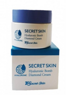 Крем для лица SECRET SKIN HYALURONIC BOMB DIAMOND CREAM: фото