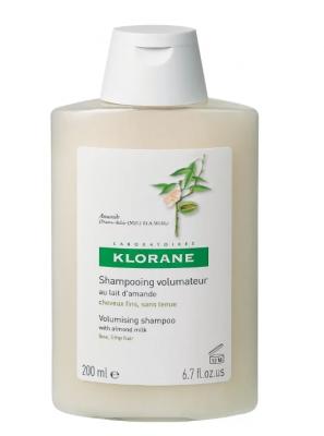 Шампунь с молочком Миндаля для частого применения Klorane Volumising with almond milk 200 мл: фото