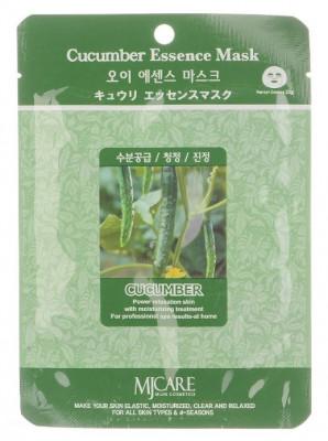 Маска тканевая Огурец Mijin Cucumber Essence Mask 23г: фото