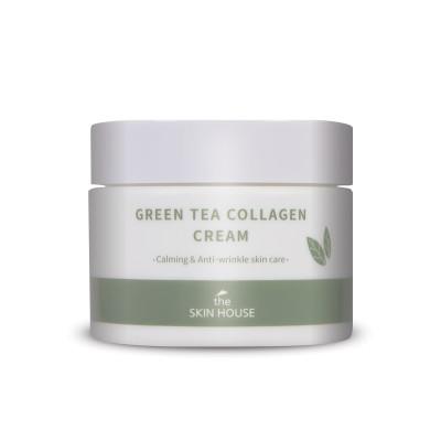 Крем успокаивающий с коллагеном и зелёным чаем THE SKIN HOUSE Green Tea Collagen Cream 50мл: фото