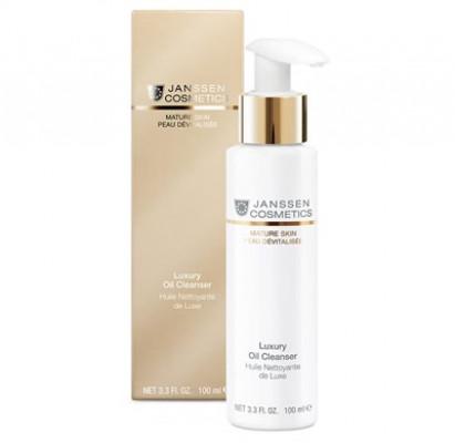 Масло для лица Роскошное очищающее Janssen Cosmetics Luxury Oil Cleanser 100 мл: фото