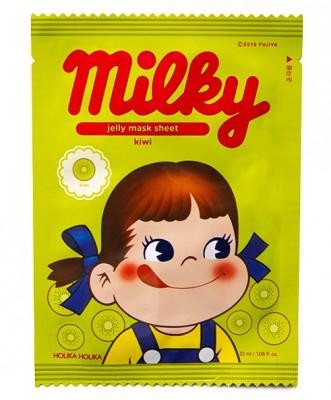 Маска тканевая тонизирующая с киви Holika Holika Peko Jjang Jelly Mask Sheet Kiwi 32 мл: фото