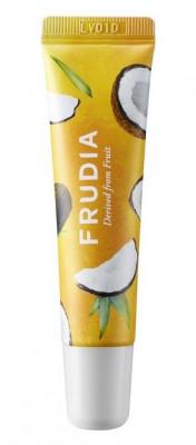 Крем для губ смягчающий с кокосом Frudia Coconut Honey Salve Lip Cream 10 г: фото