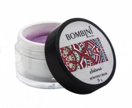 Ремувер кремовый Bombini Sakura 15 мл: фото