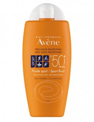 Солнцезащитный флюид AVENE SUNCARE Sport SPF50+ 100 мл: фото