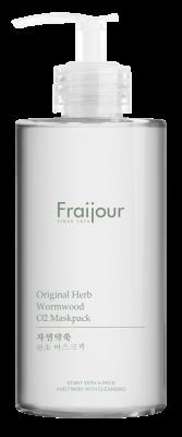 Маска для лица КИСЛОРОДНАЯ EVAS Fraijour Original herb wormwood O2 Maskpack 300мл: фото
