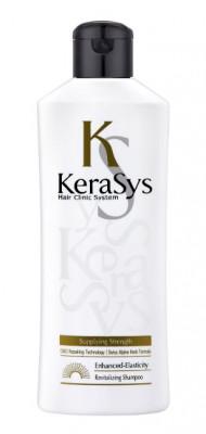 Шампунь укрепляющий для тонких и ослабленных волос KeraSys 180 мл: фото
