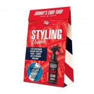 Набор Johnny's Chop Shop: Файбер для стайлинга + Текстурирующий солевой спрей: фото
