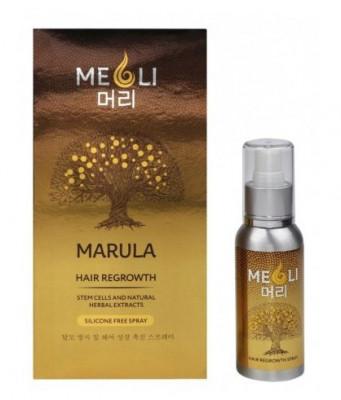Спрей от выпадения и для быстрого роста волос MEOLI 80мл: фото