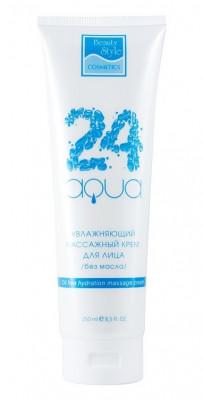Увлажняющий массажный крем для лица без масла Beauty Style Аква24 250мл: фото