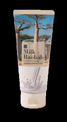 Пенка очищающая для лица и тела Milk Baobab Whipping Cleansing Foam 120мл: фото