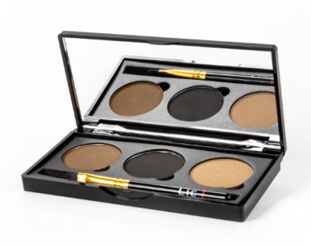 Набор теней для бровей Lic Professional eyebrow set 01 Wild savanna: фото