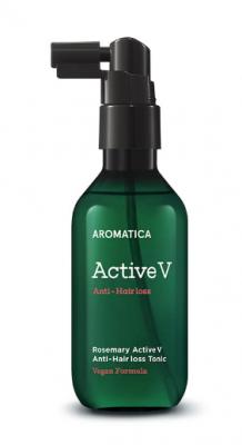 Тоник против выпадения волос с розмарином Rosemary Active V Anti-Hair Loss Tonic 100мл: фото