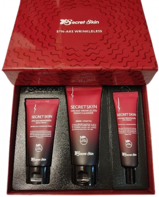 Уходовый набор Secret Skin Syn-Ake Wrinkleless 3 set: фото