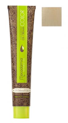 Краска для волос Macadamia Oil Cream Color 10.0 ОСВЕТЛЯЮЩИЙ НАТУРАЛЬНЫЙ БЛОНДИН 100мл: фото