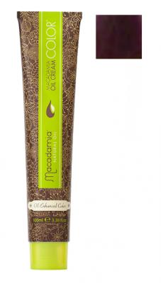 Краска для волос Macadamia Oil Cream Color V ФИОЛЕТОВЫЙ 100мл: фото